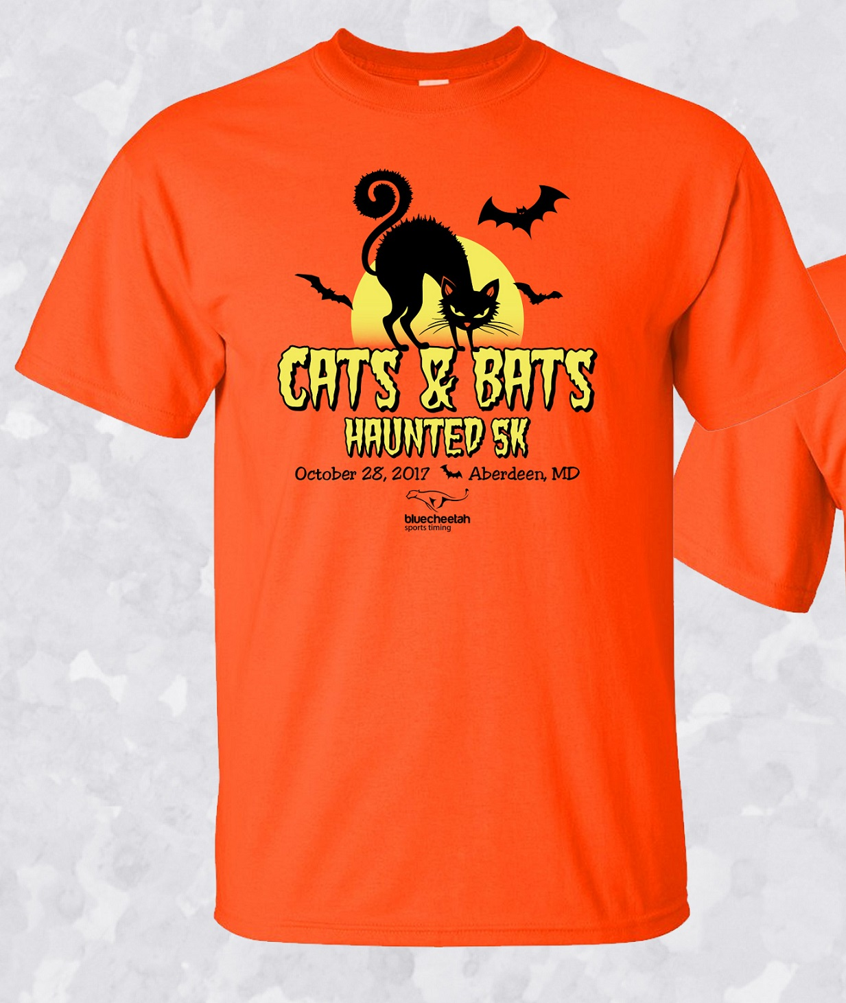 Cats bats 5k 2017 aberdeen md 8am presented by blue for I can only please one person per day t shirt